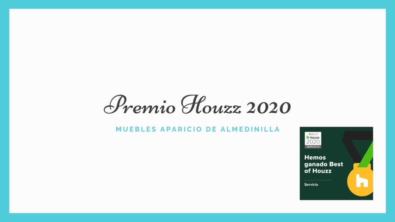 Premio Houzz 2020 para Muebles Aparicio de Almedinilla