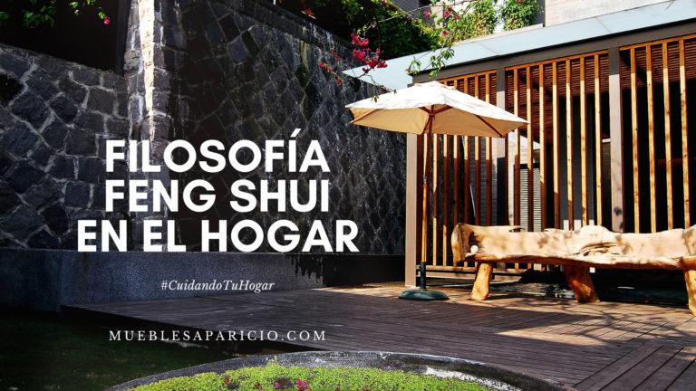 filosofía feng shui en el hogar
