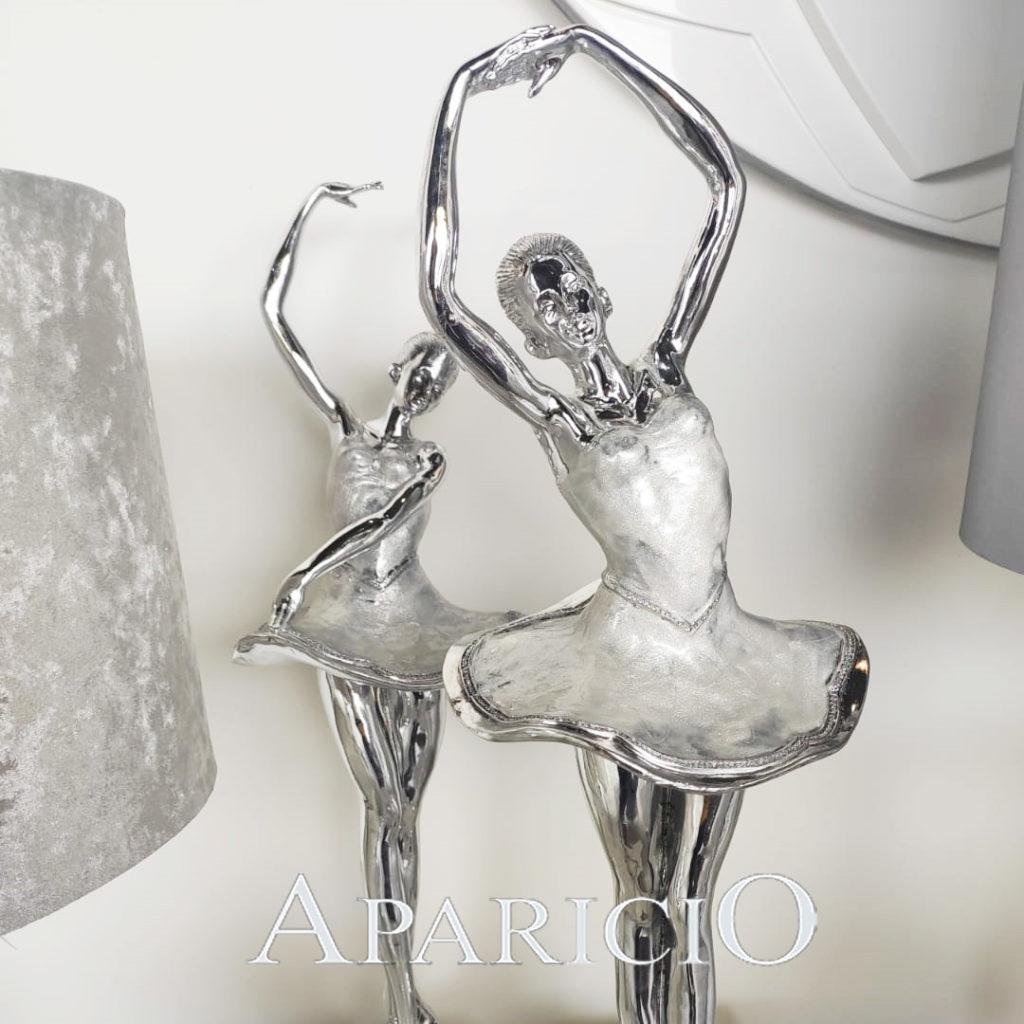 muebles aparicio figuras de plata decoración