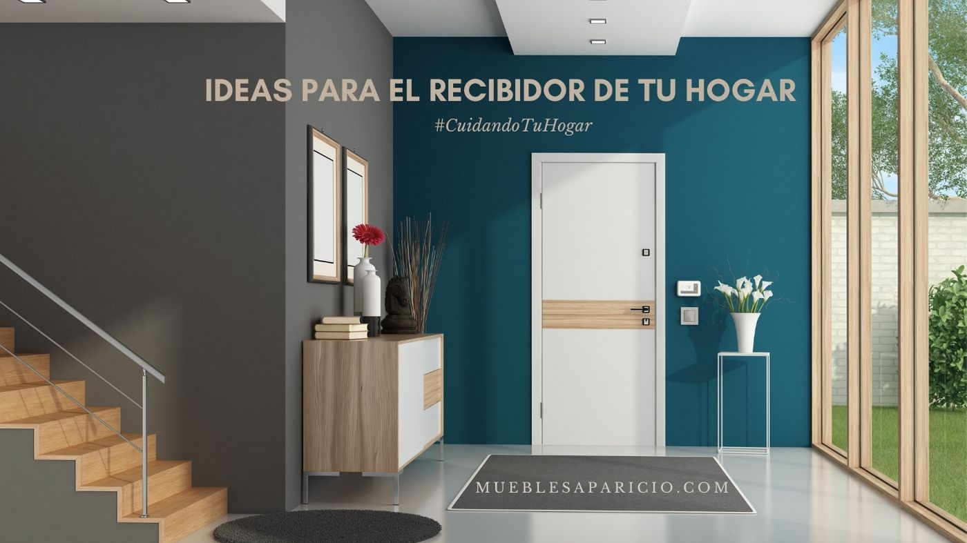 ideas para el recibidor de tu hogar