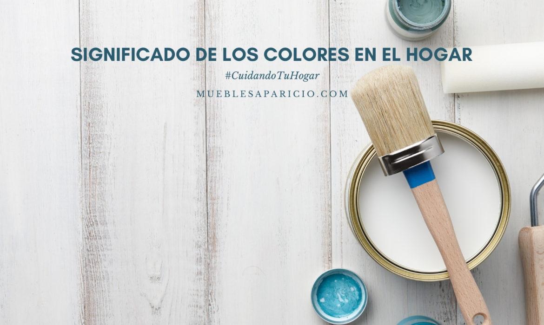 significado de los colores en el hogar