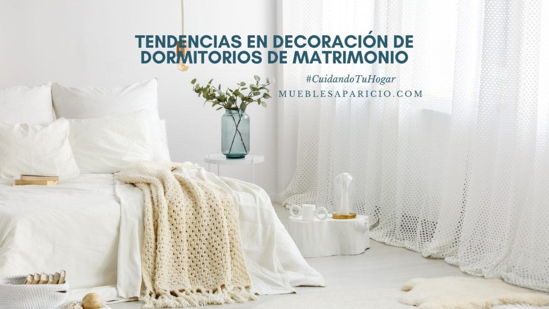 tendencias en decoración de dormitorios de matrimonio