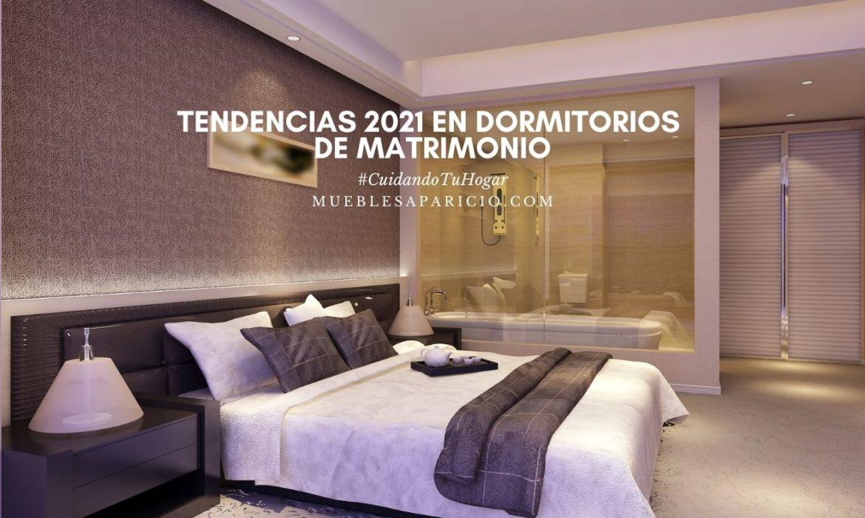 tendencias 2021 en dormitorios de matrimonio