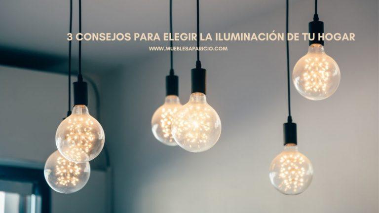 consejos para elegir la iluminación de tu hogar