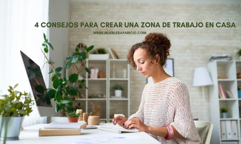 consejos para crear zona de trabajo en casa